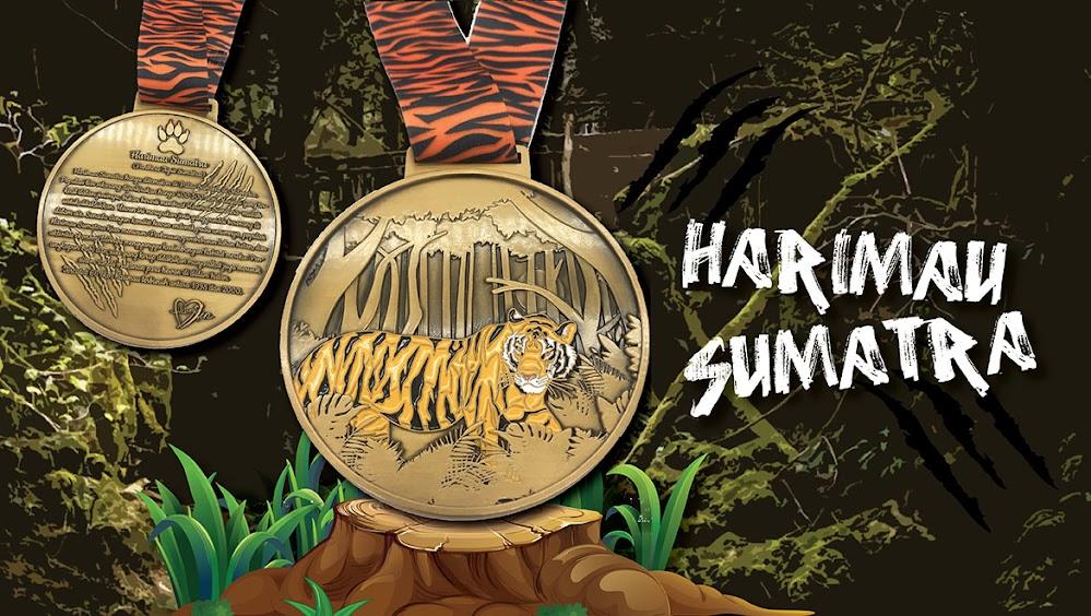 Harimau Sumatera Virtual Run • 2019