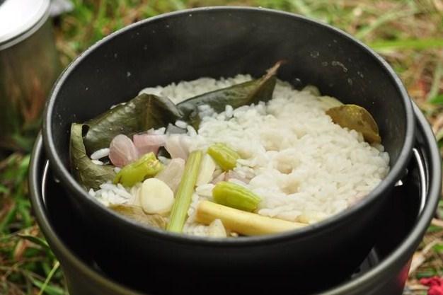 Resep nasi liwet pulen