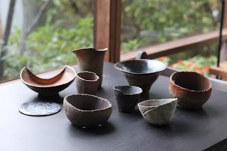 山野草盆栽の盆栽鉢・陶盤 大竹慎一郎さん