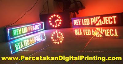 Contoh Desain RUNNING TEX Dari Percetakan Digital Printing Terdekat