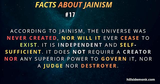 Jainism COSMOLOGY UNIVERSE