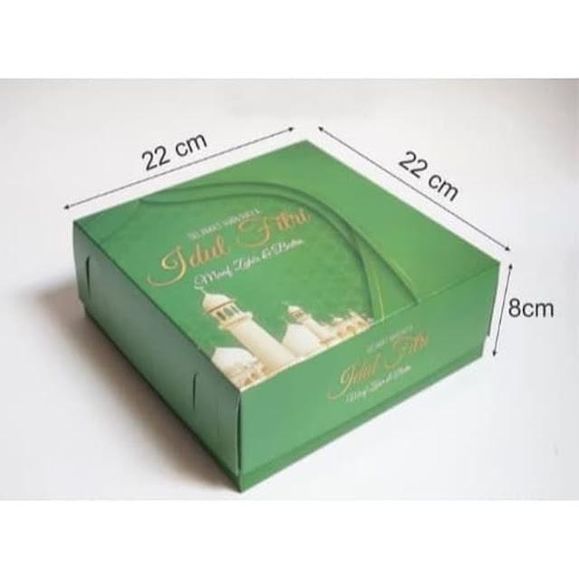Kotak Kemasan Kue Lebaran