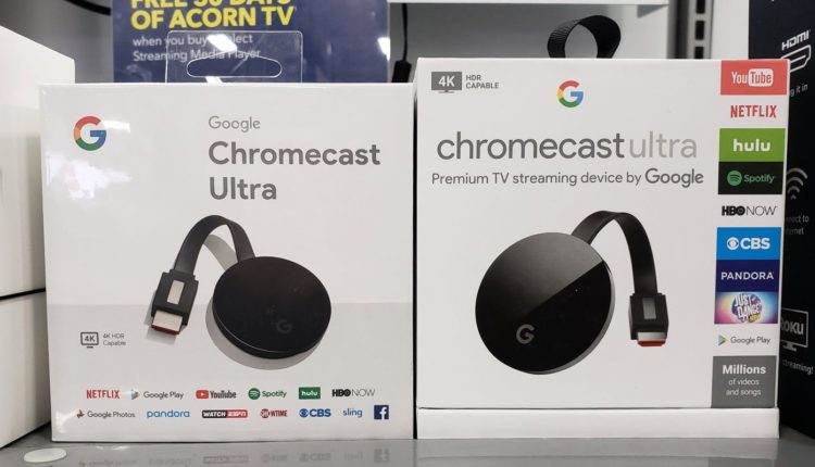 Google is working on a new version of Chromecast Ultra