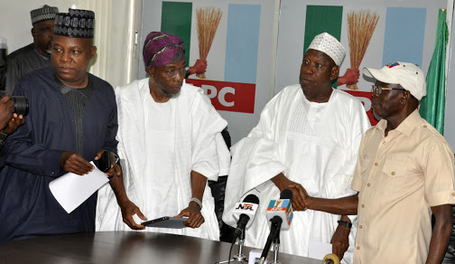 Why APC Can't Substitute Ganduje As APC 2019 Candidate Despite Dollar Bribe Allegation