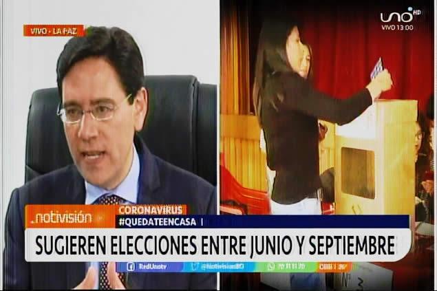 TSE sugiere que las elecciones se realicen entre el 7 de junio y 6 de septiembre