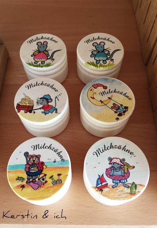 Milchzahndosen