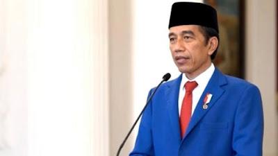 Foto Presiden RI Jokowi. 2021 Akan Jadi Catatan Sejarah Sebagai Tahun Pemulihan Kehidupan.