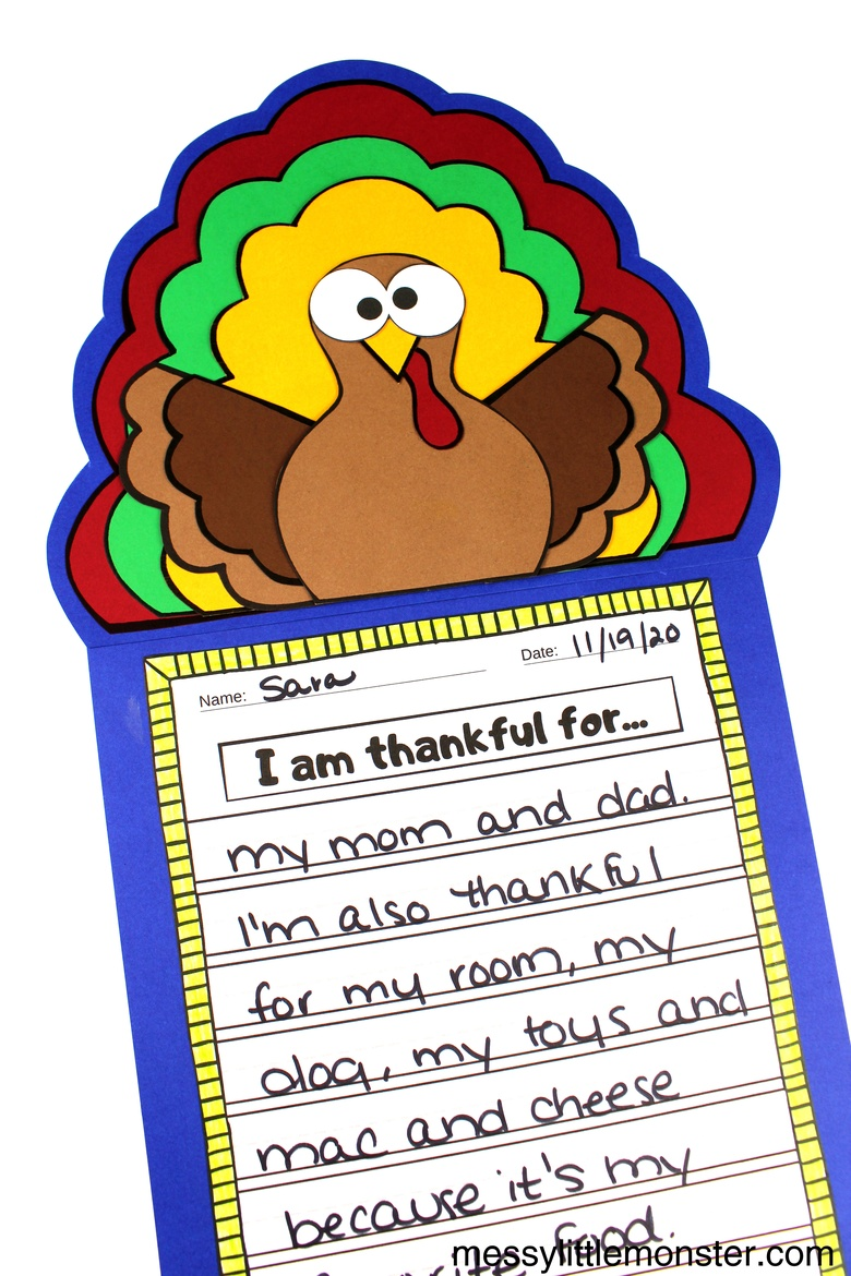 Thankful craft for kids