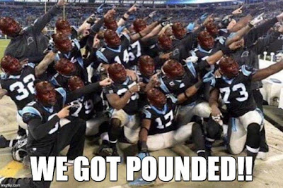 #nfl #panthers - we got pounded!!