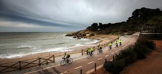 Bike lane from L'Escala to Sant Pere Pescador