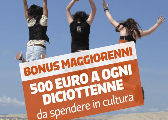 Bonus 500 euro 18enni come richiederlo