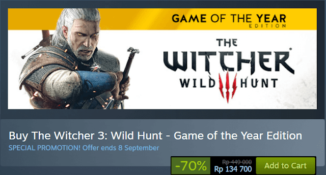 the witcher diskon