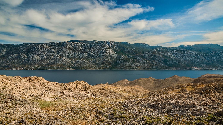 Chorwacja trekking Metajna Wyspa Pag