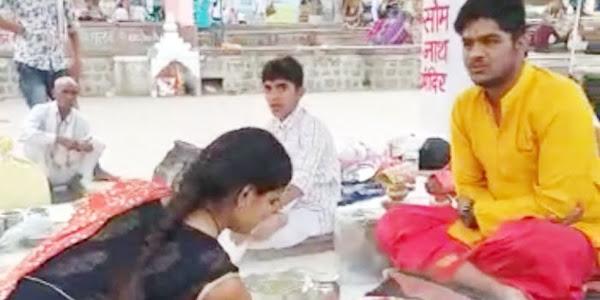 जयश्री ने उज्जैन पहुंचकर अपने पिताजी की अंत्येष्टि कर निभाया बेटे का फर्ज