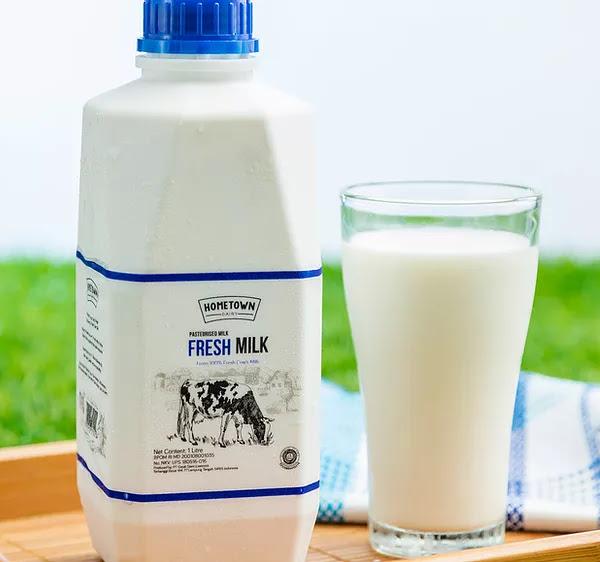 Manfaat dan Olahan Sehat Fresh Milk Hometown Diary