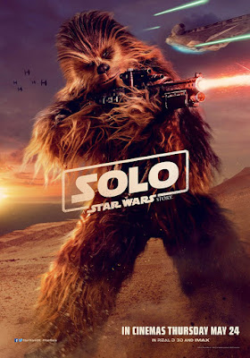 Solo: A Star Wars Story International Theatrical Character One Sheet Movie Poster Set