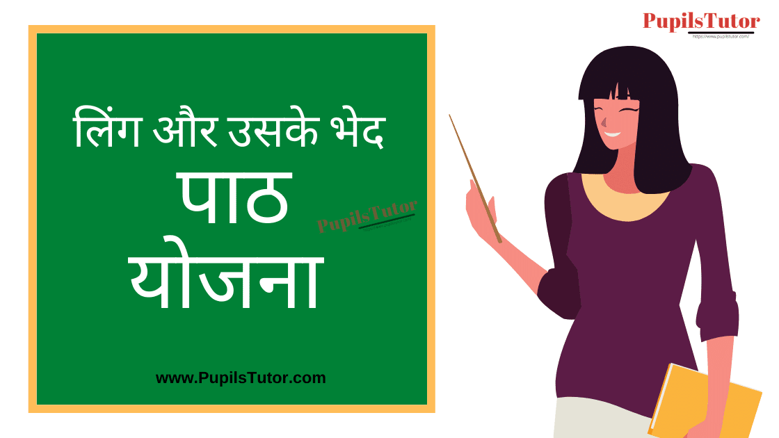 Ling Lesson Plan in Hindi for B.Ed/DE.L.ED   लिंग और उसके भेद पाठ योजना  Ling Lesson Plan