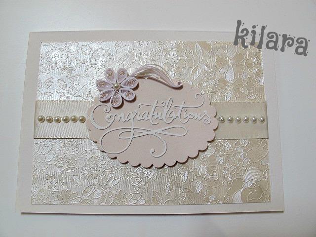 Biglietti Auguri Matrimonio Quilling : Kilara creation card matrimonio