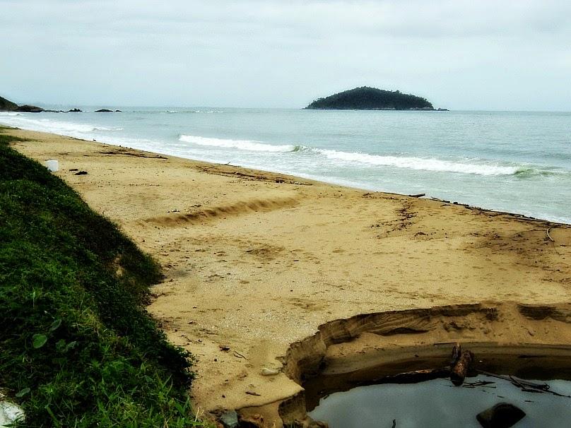 Praia do Quilombo, em Penha
