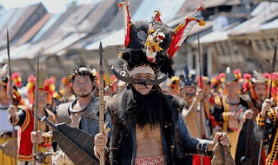 Tari Moyo Suku Nias Tarian Burung Elang Dari Sumatera Utara-art