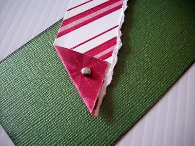 brad+in+paper DIY Christmas Gift Tags Tutorial