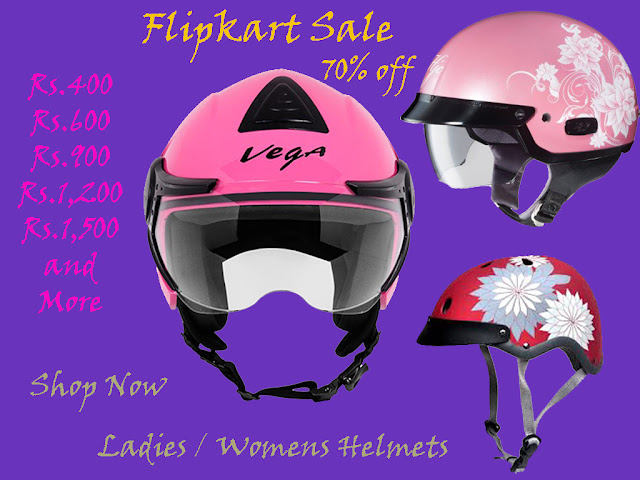 Flipkart Offers, Flipkart coupons, Flipkart India, helmets for ladies online, helmets flipkart, vega helmets india, helmets online, helmets for girls online, helmets for ladies online india, helmets for ladies with isi mark,