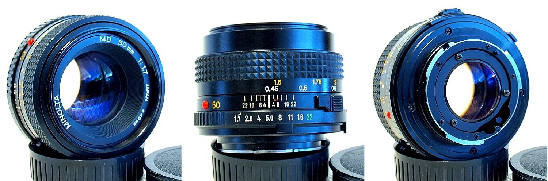 Minolta MD 50mm 1:1.7 #686
