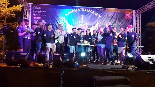 BeAT Community Batam Rangkul Puluhan Klub Motor di Kepri Rayakan Anniversary ke-10