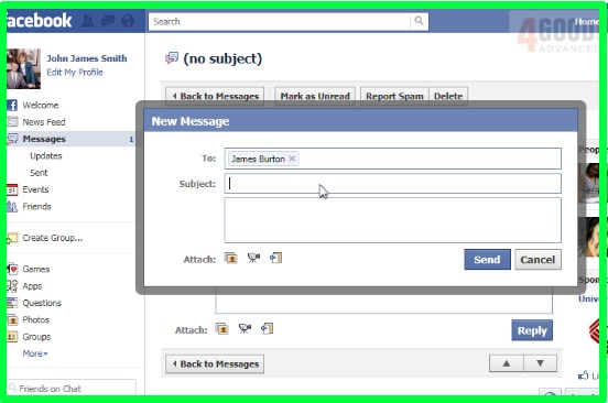 how to view messages on facebook chat