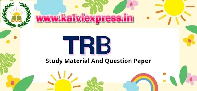 TRB POLYTECHNIC  STUDY MATERIAL  2020-21