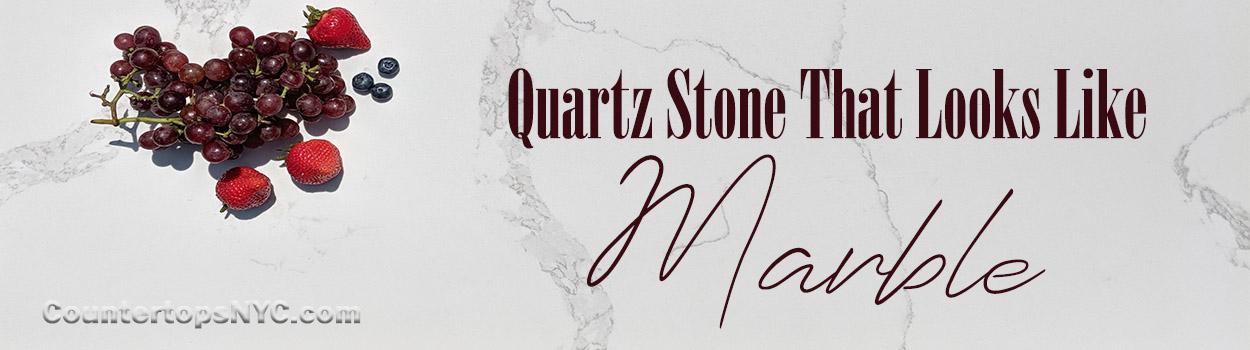White Quartz Stone Countertop That Look Like Marble