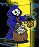 WIP: Reaper Bones II Kickstarter: Mr. Bones II Halloween Contest Entry