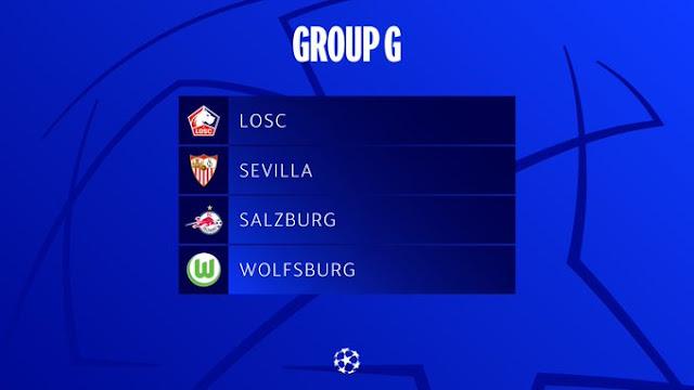 grupo g sevilla champions