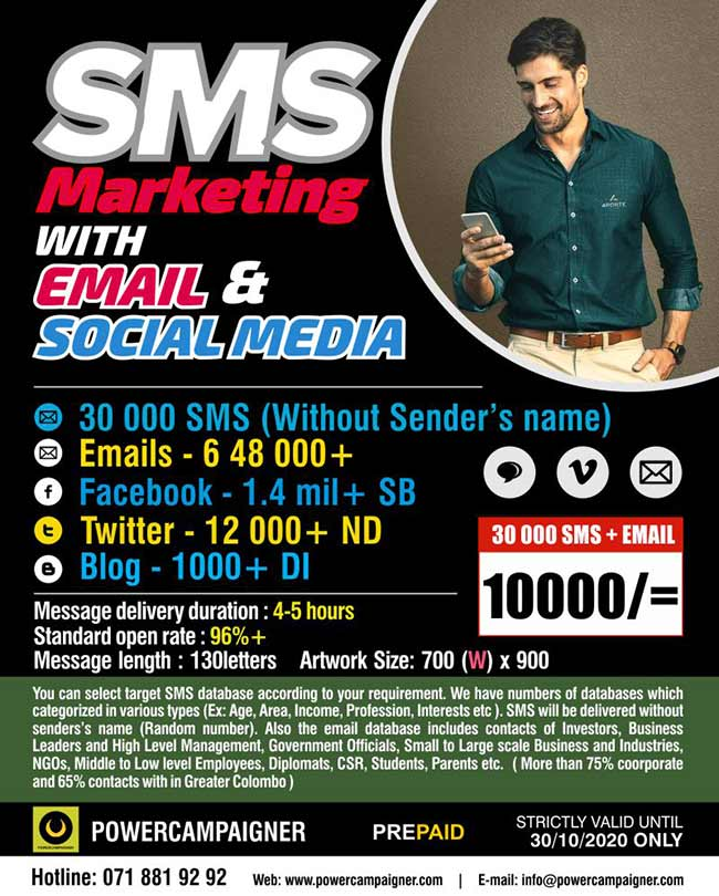 SMS Marketing with Email and Social Media.