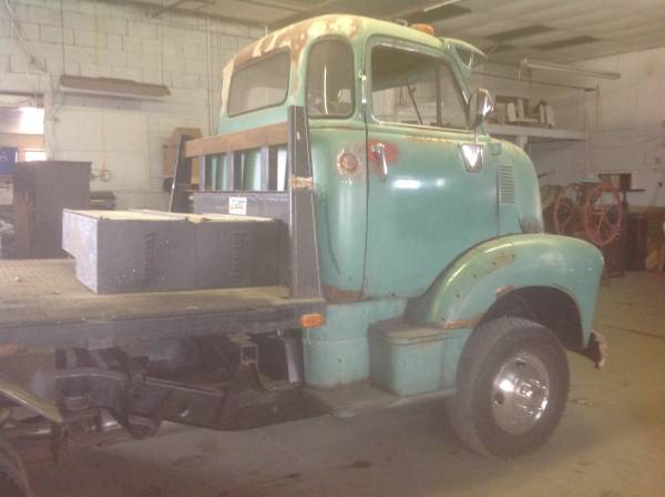 1949 Chevy COE Truck - Old Truck