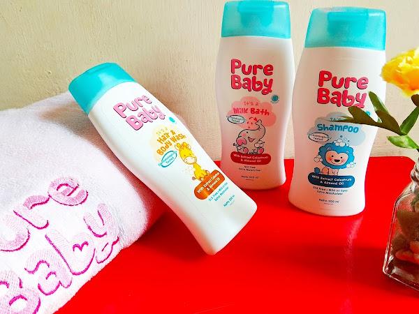 Review Pure Baby, Produk Perawatan Kulit Bayi
