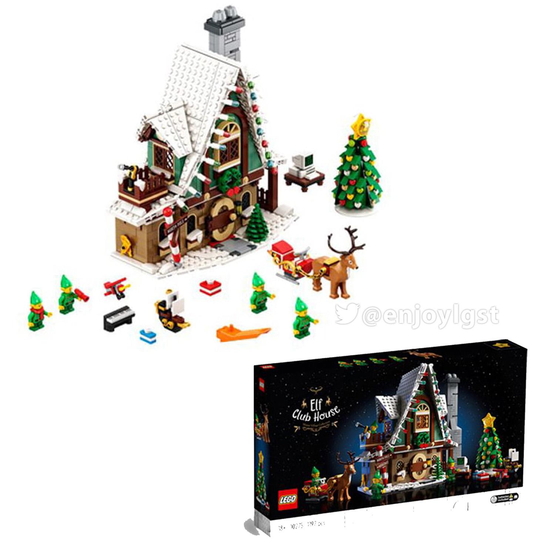 レゴ(LEGO) クリスマス・ウィンター・ビレッジ エルフのクラブハウス 10275