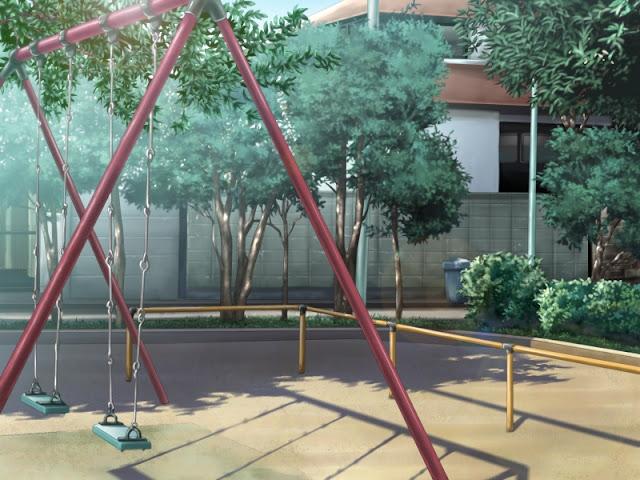 Swings for Children (Anime Background)