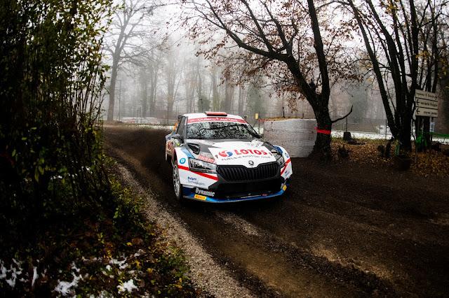 Skoda Fabia R5 Rally racing car