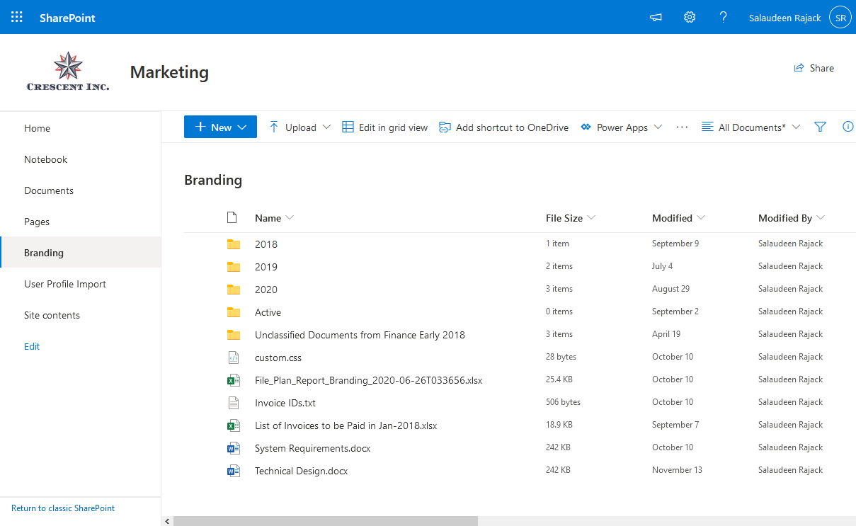 sharepoint online inject custom CSS in modern sites