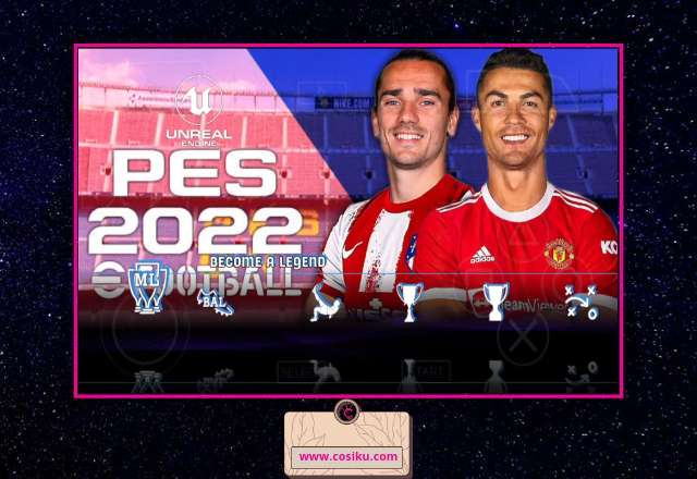 PES 2022 Iso PPSSPP NEW Best Graphics & Update Fix Transfer & Kits