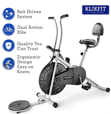 Klikfit KF04F Metal Exercise Cycle One for All Family Members