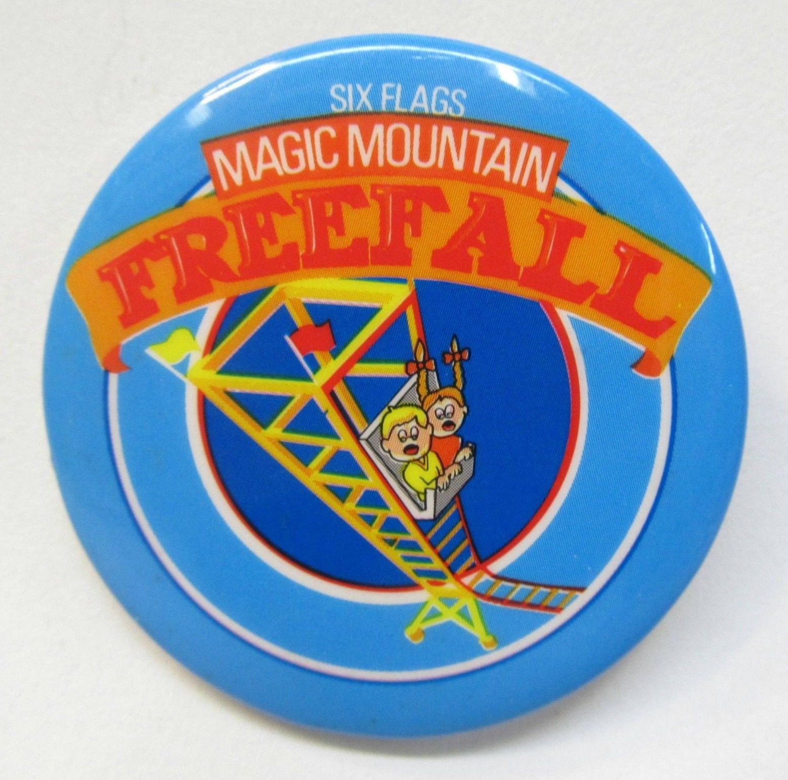 Meet The World: Freefall at Magic Mountain - 1982