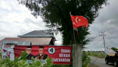 Bendera Kerajaan Aceh berkibar di pidie