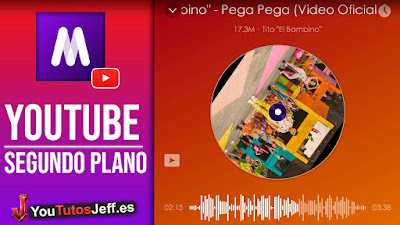 reproductor musica de youtube