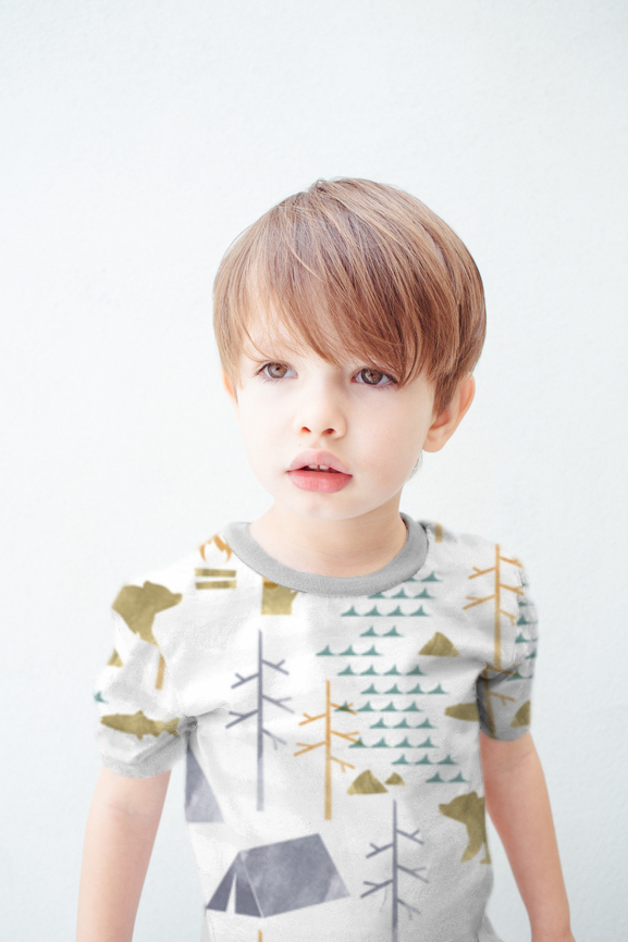 Free pattern: Little boys short sleeve t-shirt