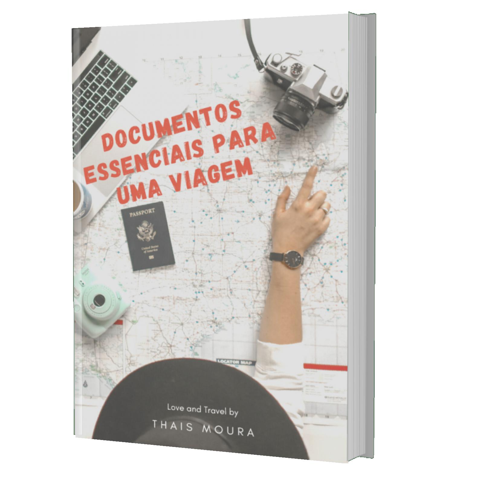 Ebook documentos essenciais para uma viagem