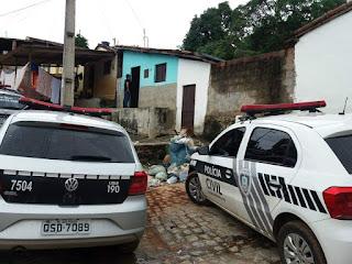 Policiais militares e civis prendem mototaxista com droga em Alagoa Grande