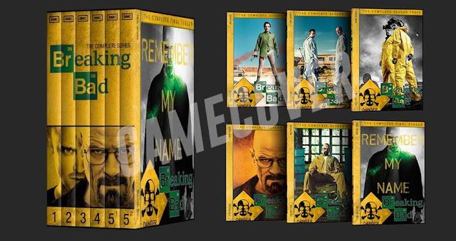 Capas DVD Coleção Breaking Bad