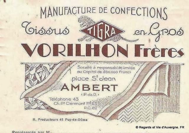 Pub ancienne : Ambert, Puy-de-Dôme.